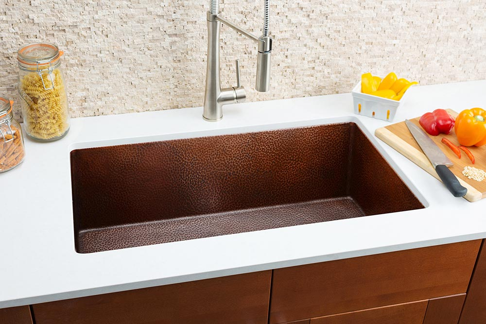 Hahn-Copper-Medium-Single-Bowl-Sink