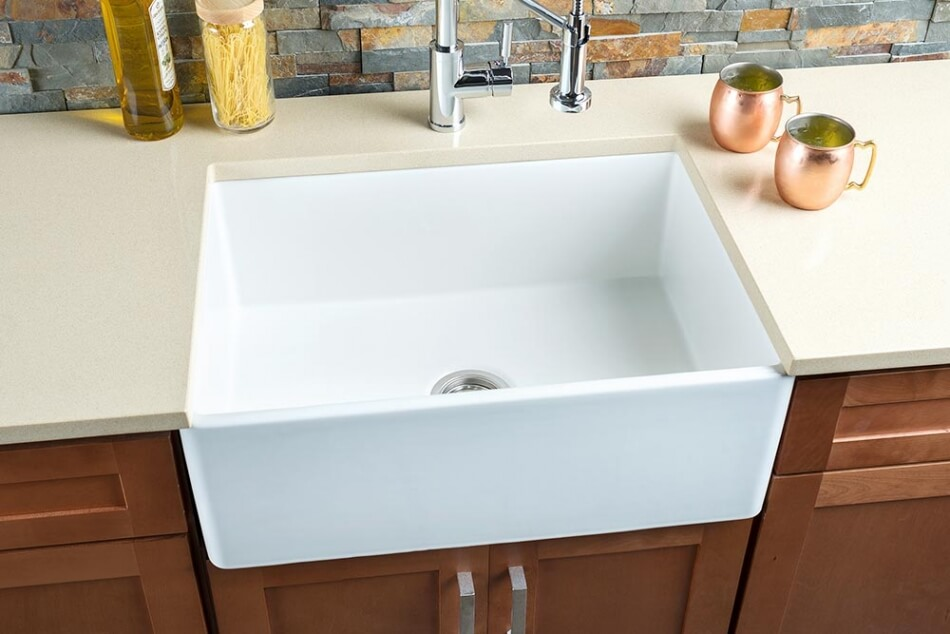 Hahn-FireClay-Medium-Single-Bowl-Sink
