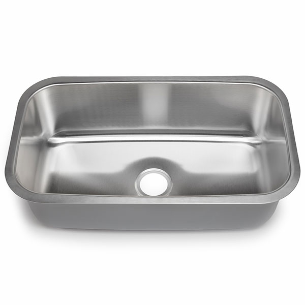 hahn chef series extra large single bowl sink
