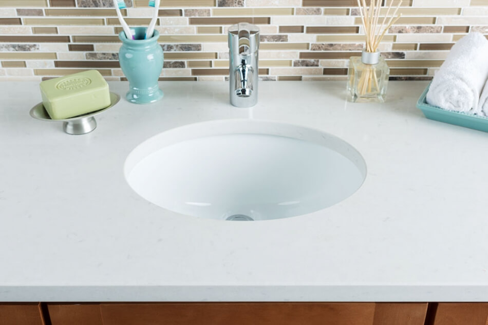 Undermount Ceramic Bathroom Sinks | ShopHahn.com.