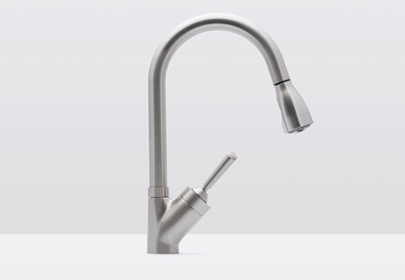 Hahn Pull Down Faucets Allow You To Direct Water Where You Need It. Ideal  For Deep Sinks, The Integrated Flexible Spray Head Is Ergonomically  Designed To ...